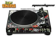 Skin Decal Sticker Wrap for Technics Quartz SL Turntable Pro Audio Mixer APCLYPS