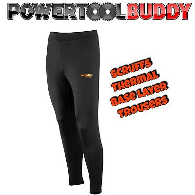 SCRUFFS Pro Base Layer Top Thermal Long Johns Sport Active Work Wear
