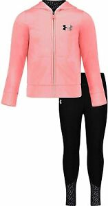 Under Armour Girls Active Hoodie and Legging Set