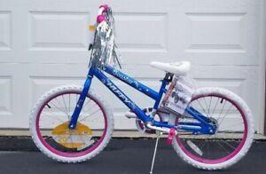 """Blue and Pink NEW Girls 20/"""" Sea Star Bike"""