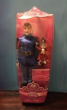 """NEW DISNEY STORE Exclusive 12"""" PRINCE PHILLIP & Forest Friends Ken Doll 2010"""