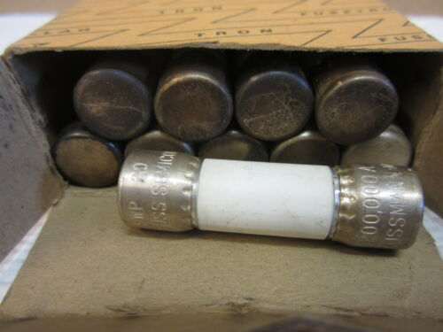 10 PK BUSS SEMICONDUCTOR FWP 20 AMP FUSE NOS
