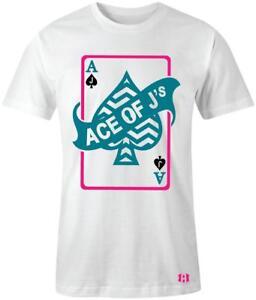 034-Ace-of-J-039-s-034-T-shirt-to-Match-Retro-034-South-Beach-034-8-039-s