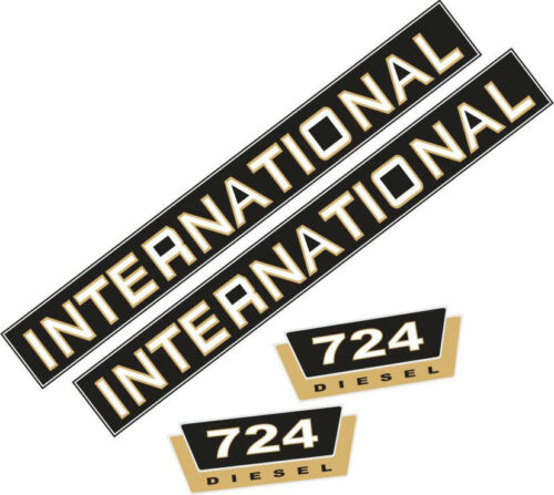 Tracteur, 724 Jeu de L/'Autocollant Inscription pour International 724