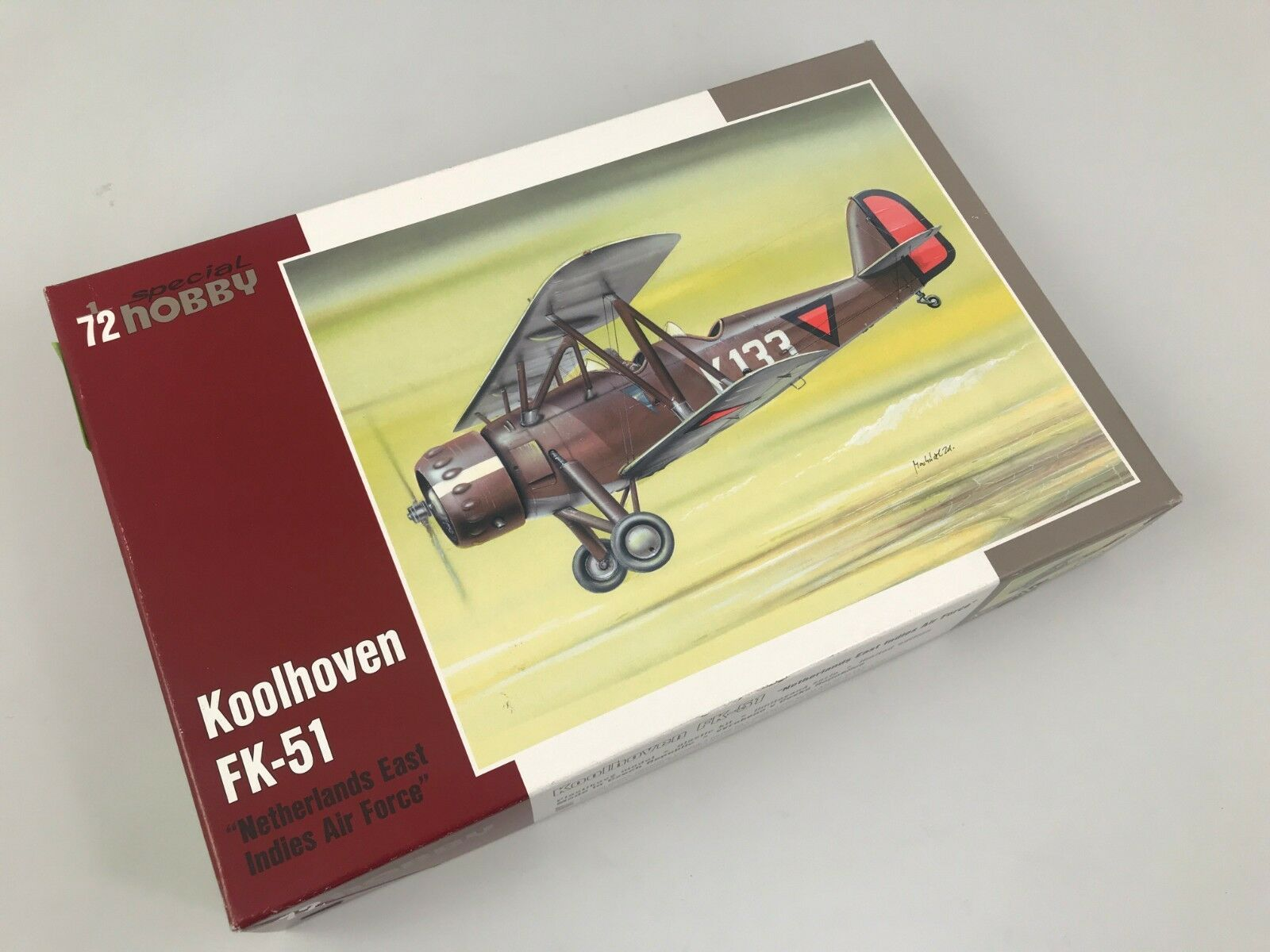 Special Hobby 72175 Koolhoven FK-51  East India Air Force  1 72 modeling