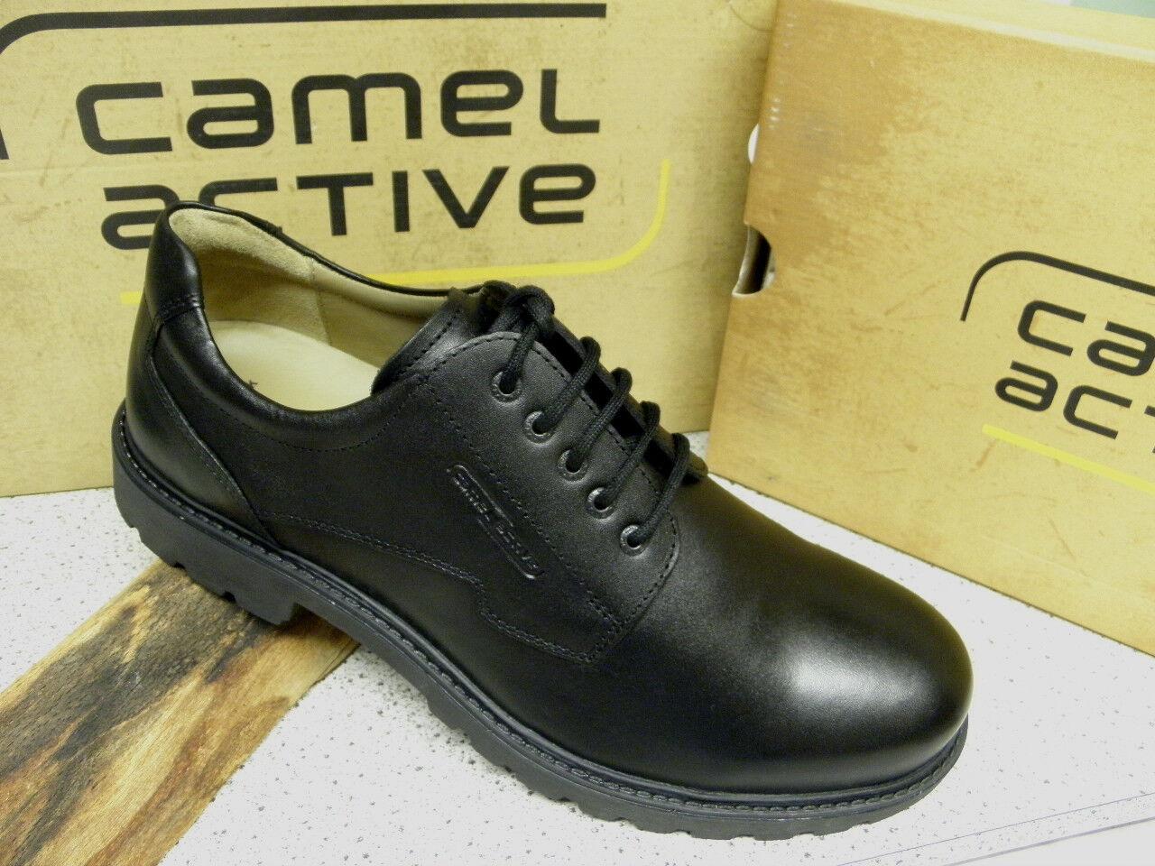 Camel Active Lederfutter ® SALE Outback schwarz Lederfutter Active 400.11.01 (C24) Gr. 45 397110
