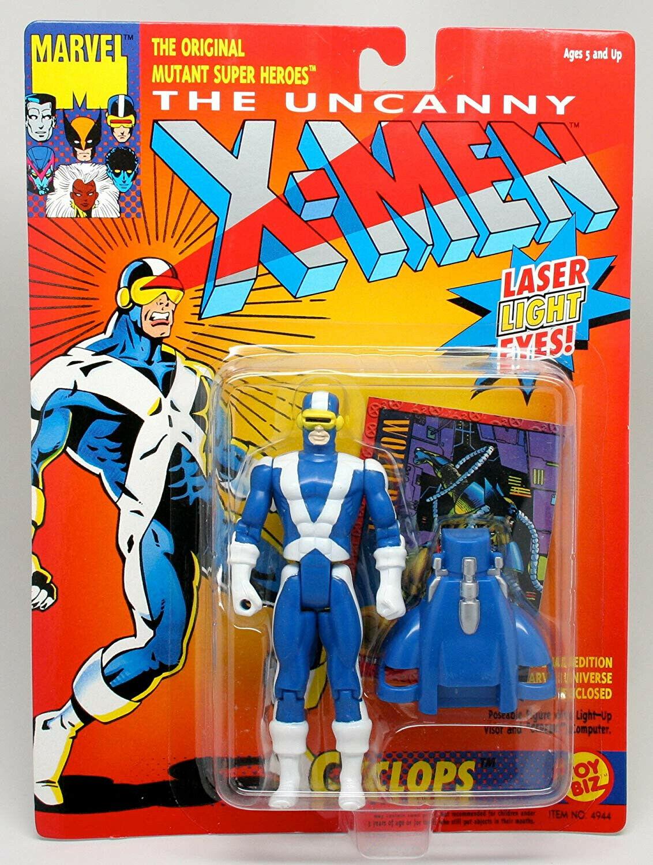 MARVEL THE UNCANNY X-Hommes lumière Up yeux Cyclops toybiz  1993  prix de gros et qualité fiable