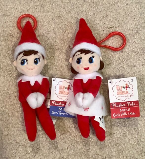 Elf Baby put on the side or Christmas Accessory For Shelf Boy Girl Red Pink Blue
