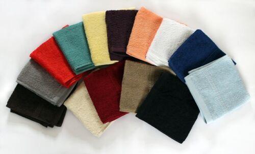 2 X Beau 400GSM en coton doux visage tissu//flannels 30X30CMS 11.5 x 11.5 ins