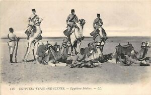 POSTCARD-EGYPT-MILITARY-Soldiers-LL-148