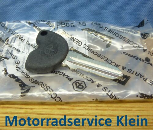 Genuine Piaggio Key Blank Blade Beverly Carnaby Fly Liberty Zip 50 125 200