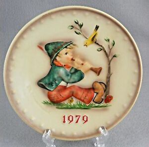 Hummel 7.25 inch Gold Rimmed On Sale Norcrest Fine China Vintage Home Decor Boy with Gifts Collectible  Plate