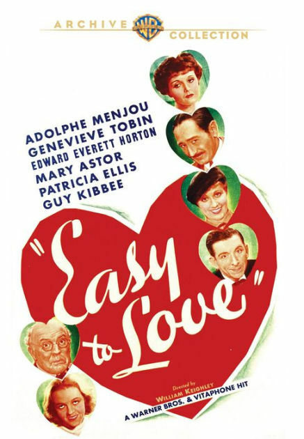 EASY TO LOVE - DVD - Region Free - Sealed