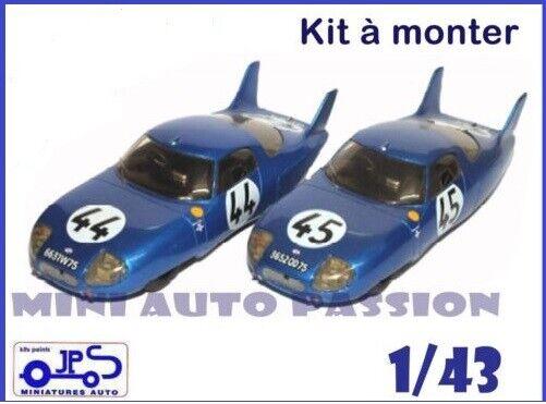 Kit JPS - CD Panhard - 24 H du Mans 1964  - Prépeint - ref   KP397