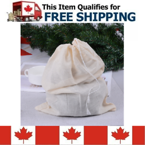 Cold Brew Coffee /& Strainer and Filter Cheese Cloth Mesh Bag For Nut Milk