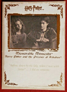 HARRY-POTTER-MEMORABLE-MOMENTS-1-Card-41-BEFORE-DOWN-BY-THE-LAKE