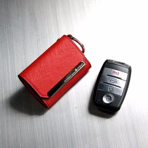 Leather Smart Key Holder Case Cover For KIA All New Sorento 2016+