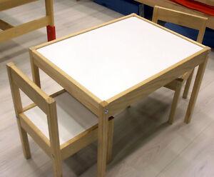 set tisch st hle kindertisch maltisch kinderstuhl kinderst hle holz natur neu ebay. Black Bedroom Furniture Sets. Home Design Ideas