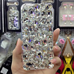 NEW-DELUX-COOL-LUXURY-BLING-CLEAR-DIAMANTE-CASE-4-VARIOUS-MOBILE-PHONE-8-9-12-X