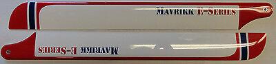Mavrikk 325mm E-Series 450 Size Carbon Fiber Main Rotor Blades - Trex 450