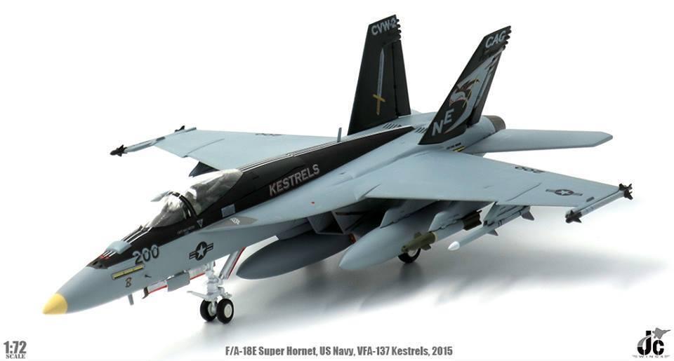 JC Wings JCW-72-F18-003, F A-18E Super Hornet US Navy VFA-137 Kestrels USS Georg