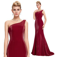 2016 Formal Cocktail Abendkleid Ballkleid Party Hochzeit Satin Kleid 34 36 38 40