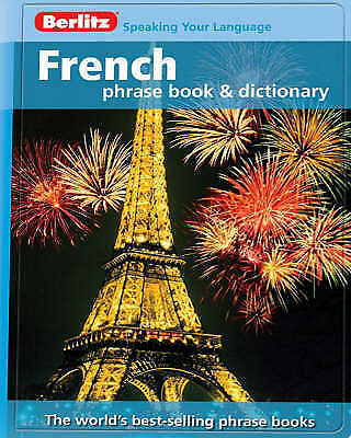 """AS NEW"" APA Publications Limited, Berlitz: French Phrase Book & Dictionary (Ber"
