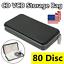 80-Disc-Plastic-CD-DVD-VCD-Carry-Case-Holder-Storage-Organizer-Bag-Album-Wallet thumbnail 1