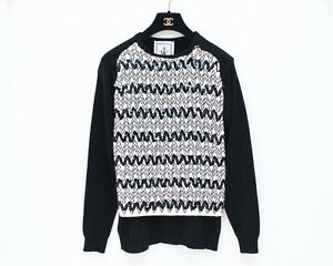 42c11100f0 Only made anderson black white sequin chevron jpg 300x240 Black and white  chevron cardigan