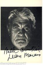 Jean Marais ++Autogramm++ ++Fantomas++