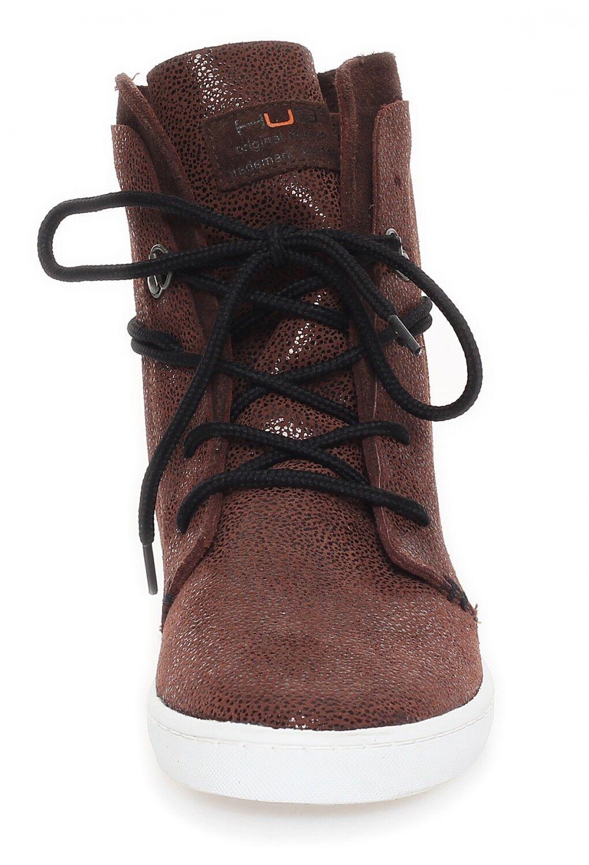 Hub-stratton DS-Morio/Blanc femmes-Basket -Chaussures femmes-Basket DS-Morio/Blanc -NEUF 9af59f