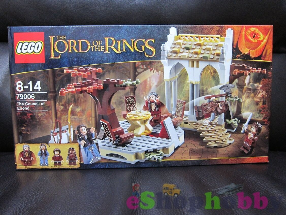 LEGO THE LORD OF THE RINGS  79006 The Council of Elrond Set 243pcs NEW IN BOX