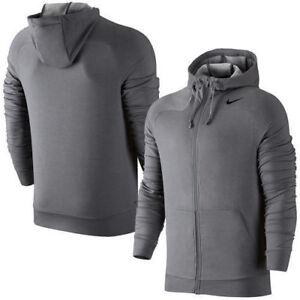 106b21517d3c Nike Dri-Fit Touch Fleece Full-Zip Men s Hoody Size X-Large Style ...