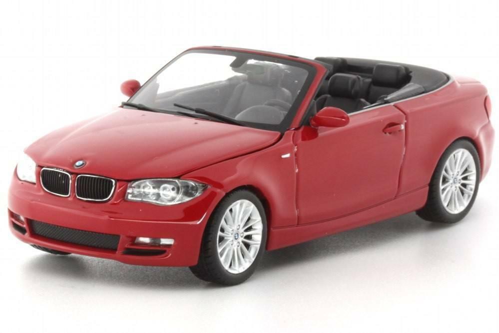 buen precio BMW serie 1 1 1 Cabrio 2007 Rojo 431026230 Minichamps 1 43 Nuevo en Caja  Raro   envío gratis