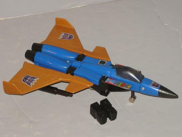G1 TRANSFORMER SEEKER JET DIRGE COMPLETE LOT   5  LOTS OF PICS PROF CLEANED""
