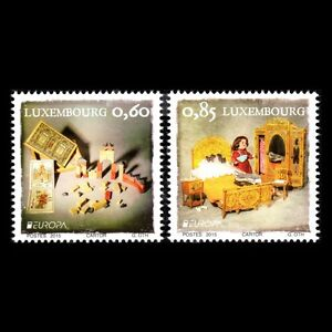 Luxembourg-2015-Europa-timbres-jouets-anciens-enfants-SC-1402-3-neuf-sans-charniere