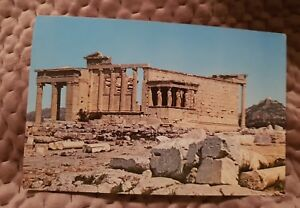 Athens-The-Erechtheion-Vintage-Postcard