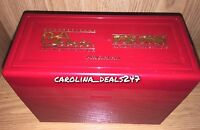 Psa Sports Red Plastic Display Storage Case Box Graded Card Protection