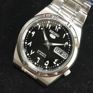 SEIKO-5-SNK063J5-21-Jewels-Automatic-Japan-Made-Arabic-Number-Limited-34mm-Dial