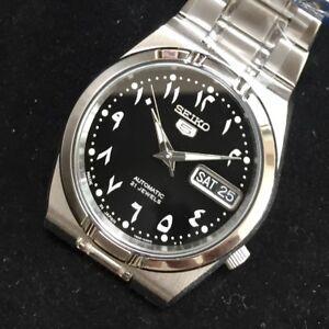 SEIKO-5-SNK063J5-21-Jewels-Automatic-Japan-Made-Arabic-No-Limited-Box-Warranty