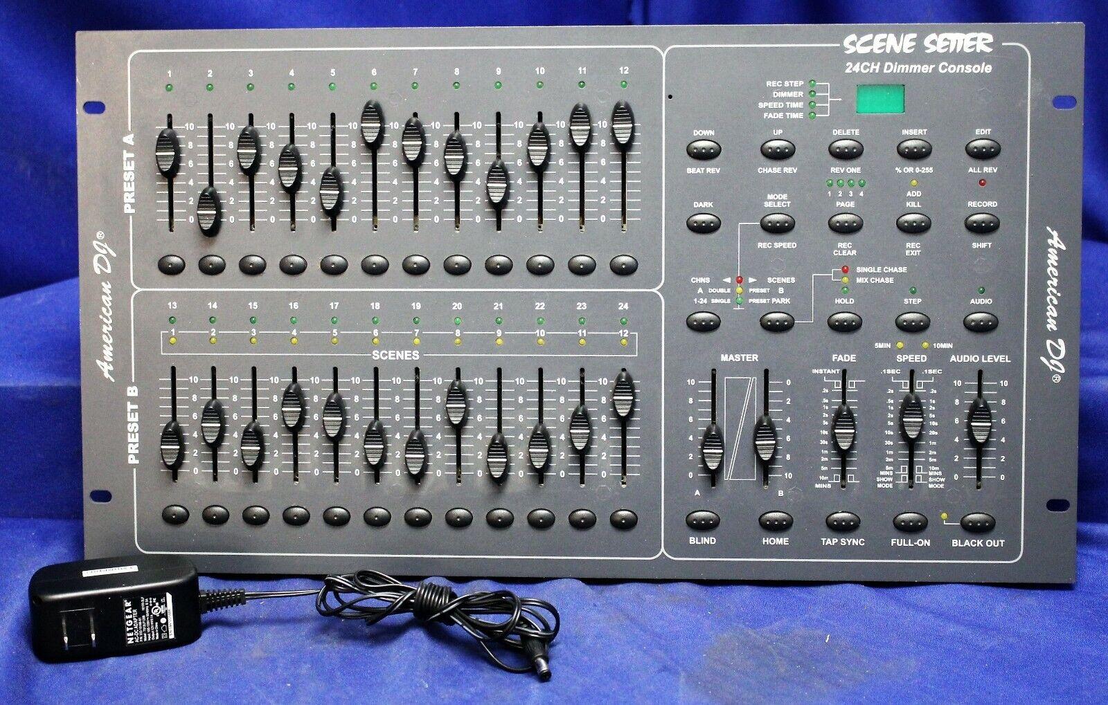 American DJ Scene Setter 24 Channel Dimmer Console