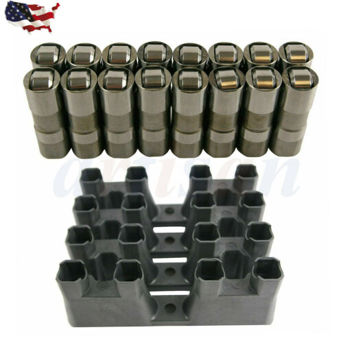 NEW 16x Hydraulic Roller Lifters /& 4x Guides For Chevrolet GM LS7 LS2 12499225
