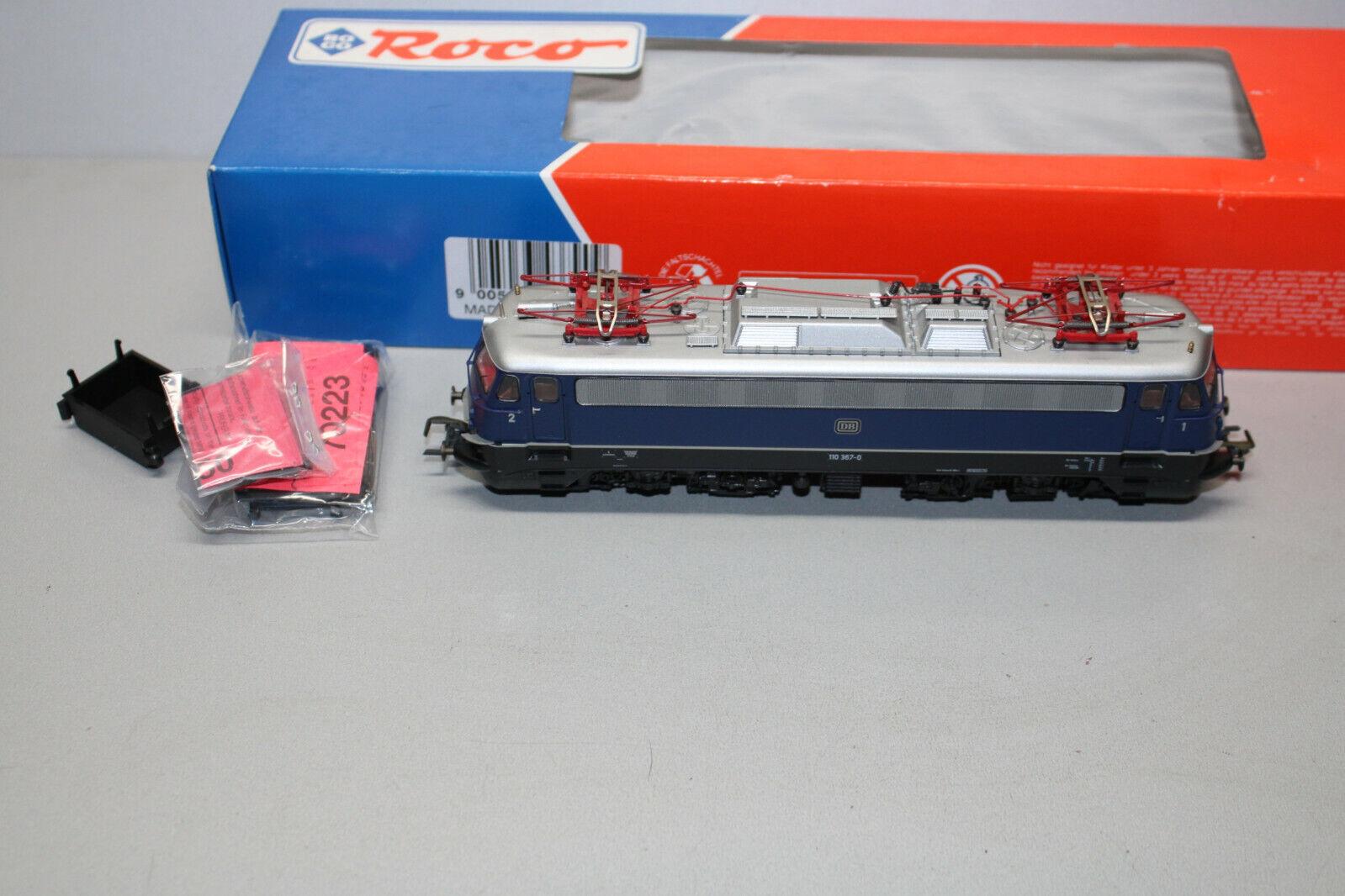 Roco 43790 elok serie 110 367-0 DB azul DSS Spur h0 OVP