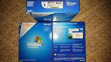 NEW Genuine Windows XP Professional SP2 FULL RETAIL KIT E85-02665 PSK
