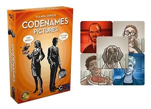Codenames-Pictures-w-Promo-Tiles-Board-Game-Czech-Games-Edition-CGE00036-Spies