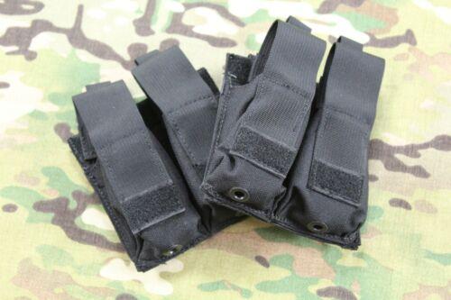 London Bridge Trading LBT-6038B Black Double Modular .45 Kydex Pistol Mag Pouch