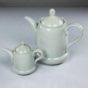 VTG-Rosenthal-Porzellan-Kaffee-Tee-Muckefuck-Kannen-mit-Filter-Sieb-30er-40er-J