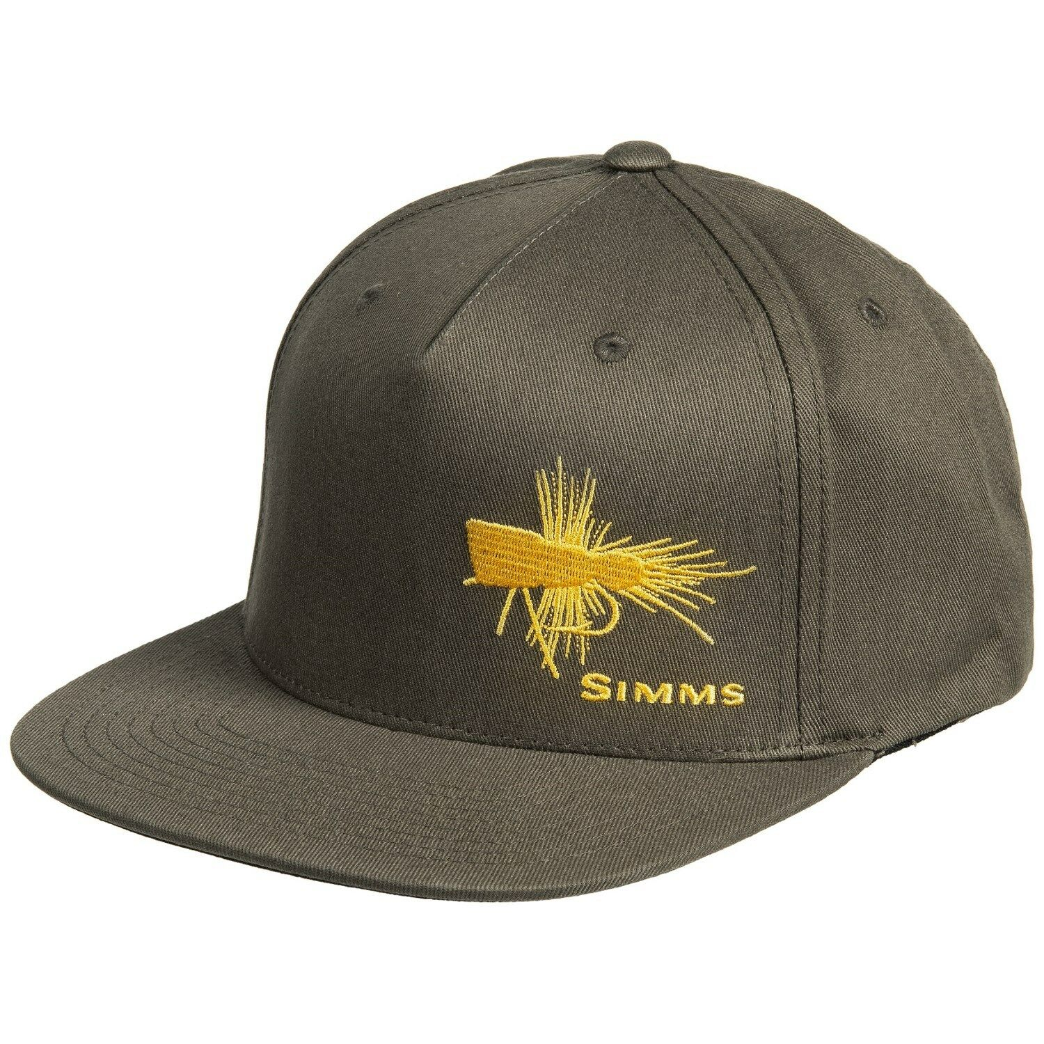 82c2b5f72ea Simms Fishing Trout Fly Cotton Twill Snapback Baseball Cap Loden for ...