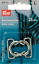 Prym Bikini and Belt Clasp Loop Metal Silver col 25 mm