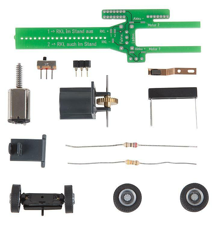 163703 Ftuttier HO autoSYSTEM CHASSIS KIT autobus, camion  neu in OVP